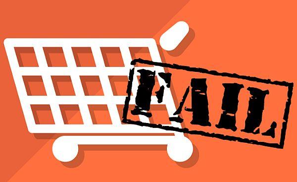 Faliure of E commerce business