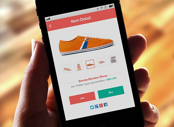 mobile e commerce Website Designs