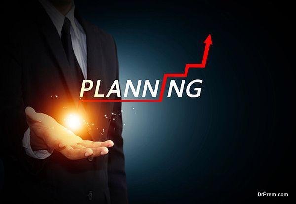 proper planning