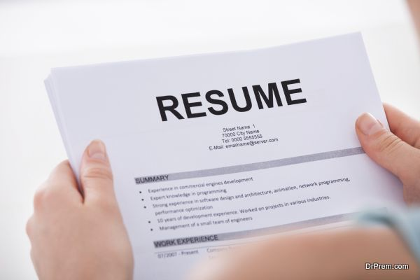 Photo of An updated resume is your perfect tool for a new job research