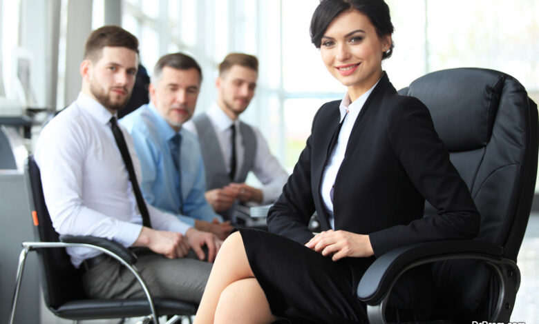 Woman in corporate world