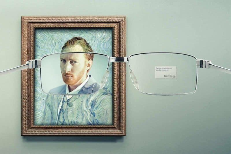 Turning Impressionism into Hyperrealism.