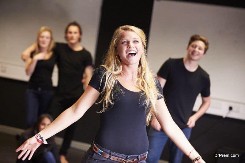 Acting school-