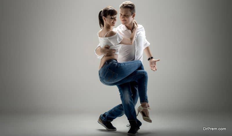Dance studio-