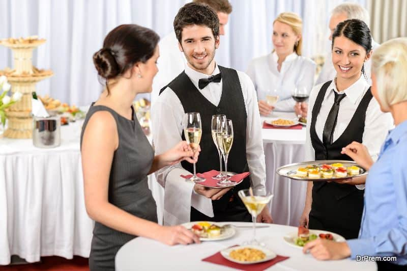 Food catering services-