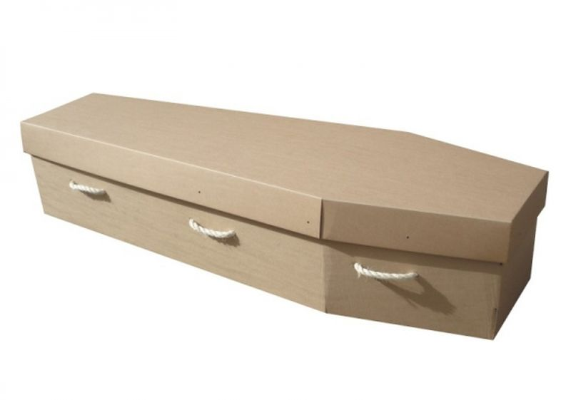 recyclable coffins