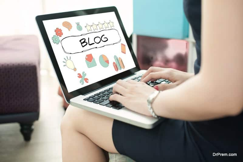 Publishing online on the right blogs