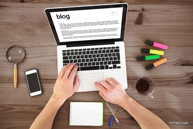 shape of blog