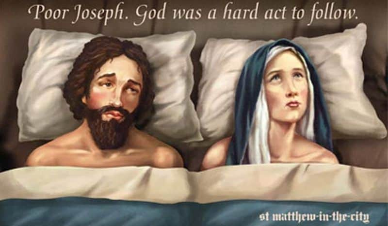 'Poor Joseph. God is a hard act to follow