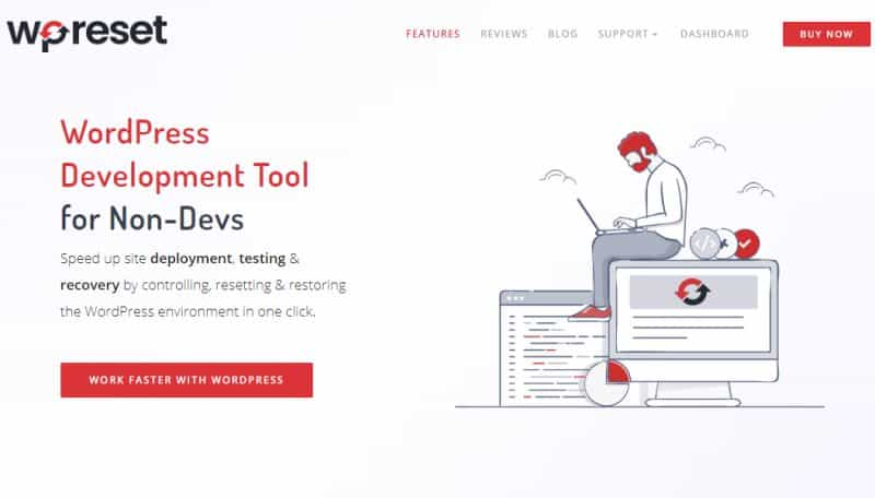 WP Reset WordPress Development Tool