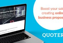 create your business proposals with Quoters.io