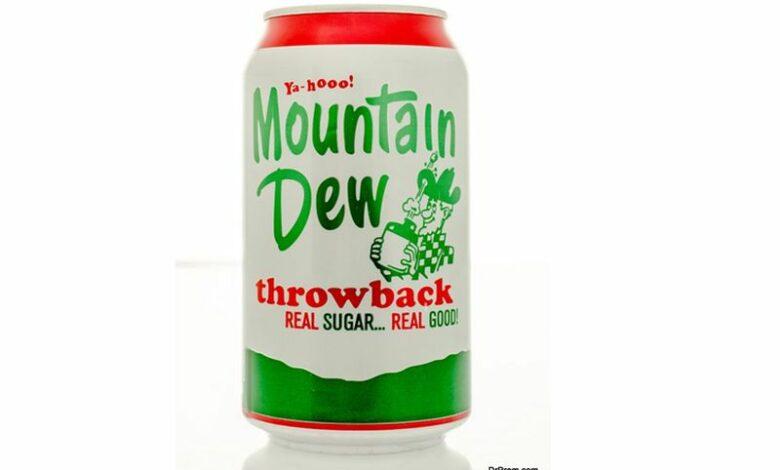 Pepsi Marketing Mountain Dew Throwback