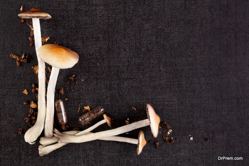 Mushrooms come with loads of antioxidants and selenium