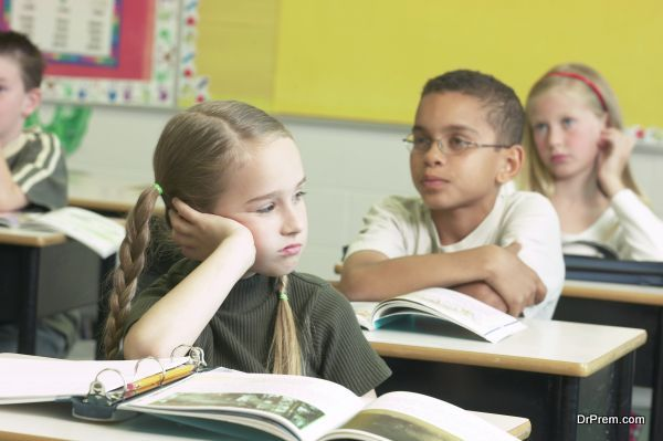 Photo of Health issues that can affect the classroom behaviors of children