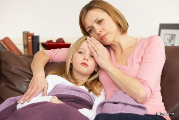 Photo of Does treating your child suffering from fever actually help in his/her recovery