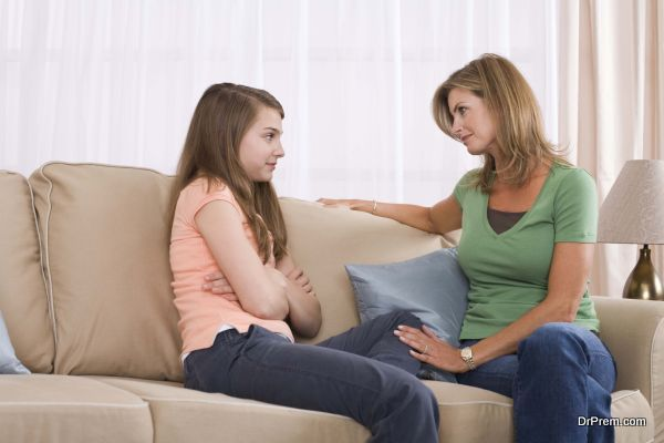 Photo of Explaining menstruation to a young girl