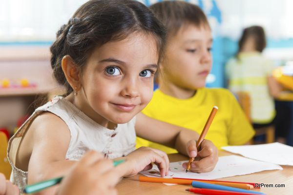 Photo of A child's health is directly related to concentration and behavior in class