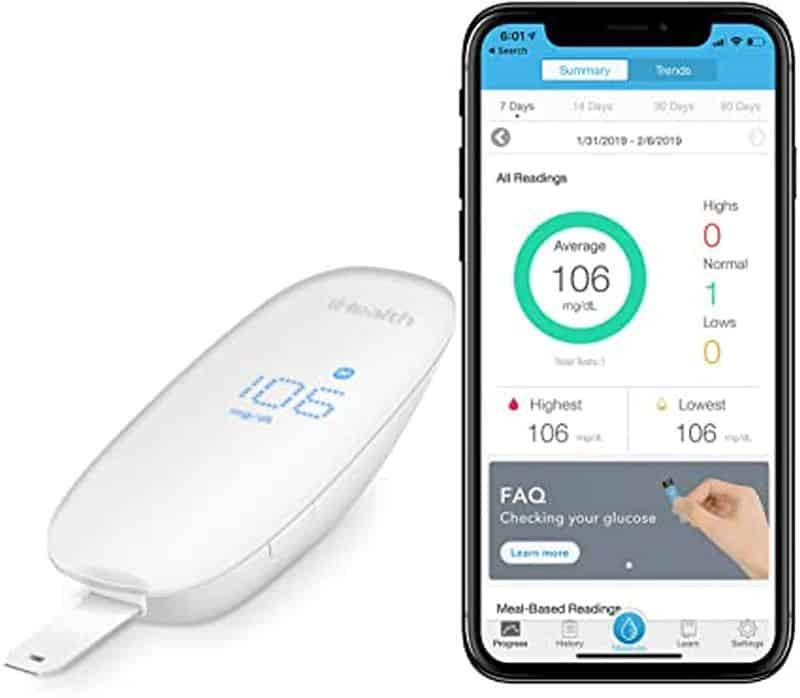 iHealth Wireless Smart Gluco monitoring system