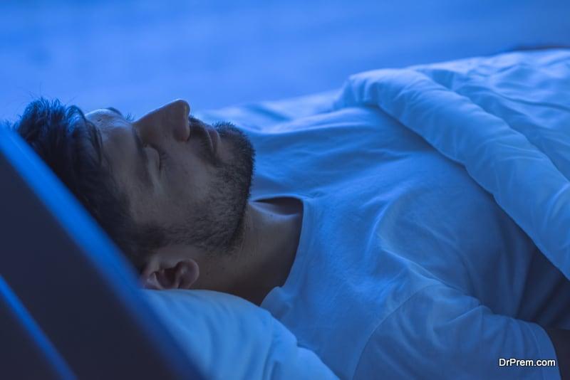 Adequate sleep reduces stress