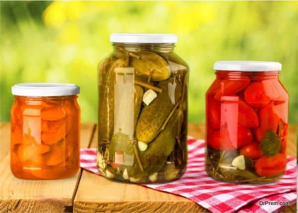 Natural pickles