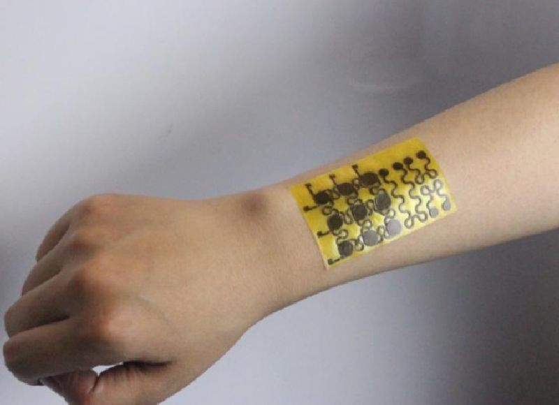 Electronic skin leapfrogs biomedicine