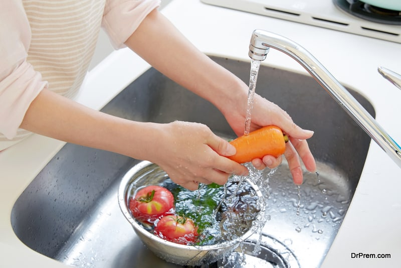 Avoid washing anything