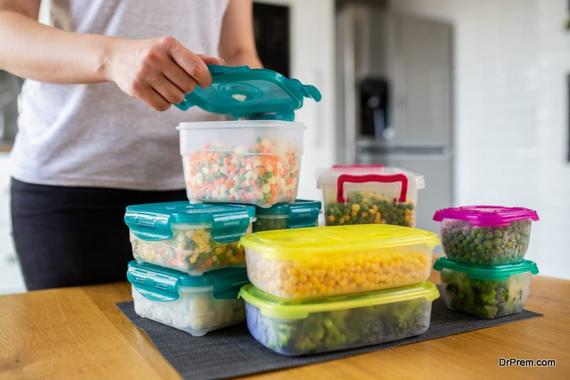 Use the right containers