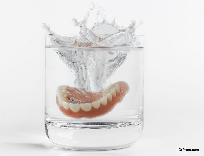 Dentures Must Be Cleaned