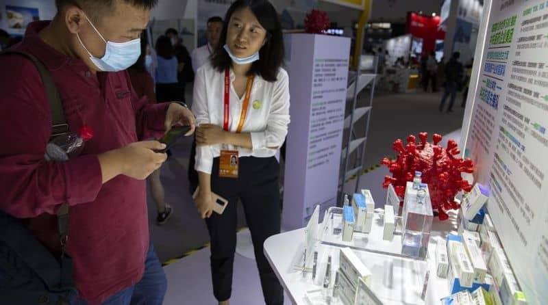 China showcases Covid-19 vaccine