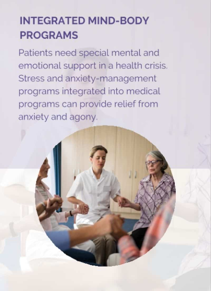 Stress and anxiety management programs