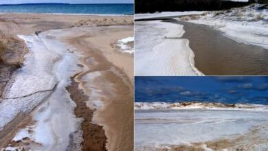 Photo of Chilean lake disappears, thanks to climate change