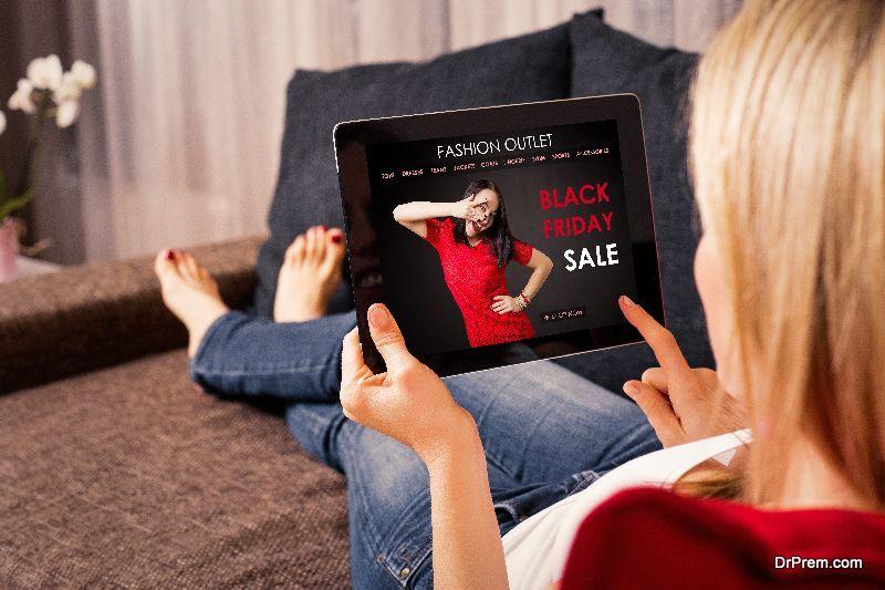 Black-Friday shop online