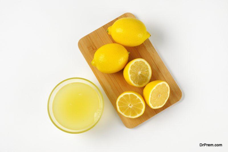 Lemon-juice.