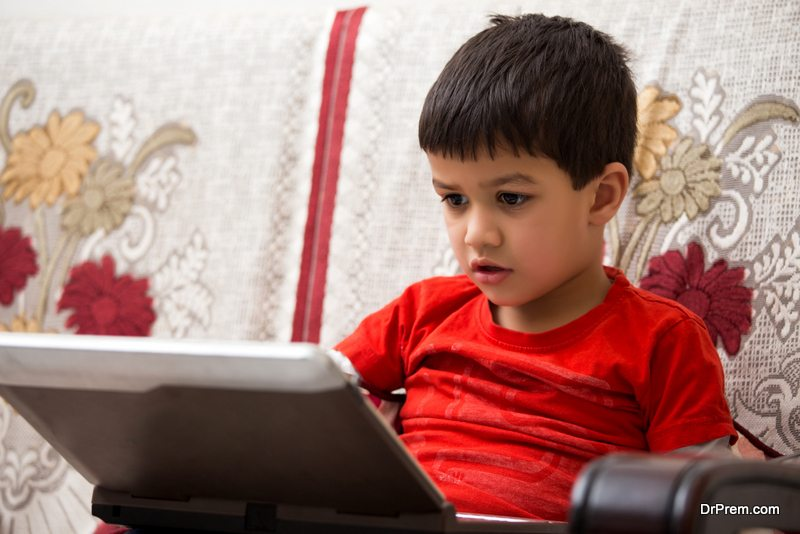 Mobile Technology to Children