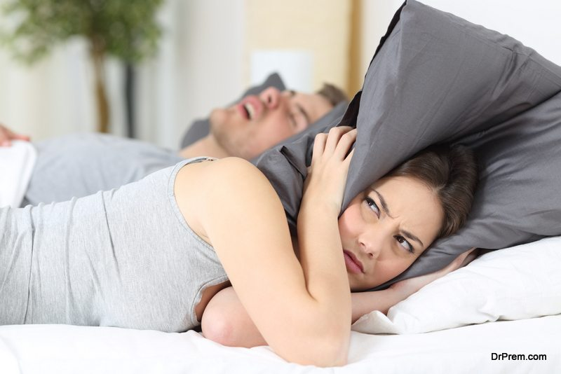 Photo of Tips for sleeping comfortably with a snoring spouse