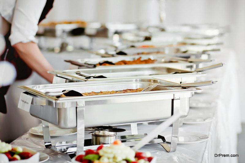 wedding food buffets