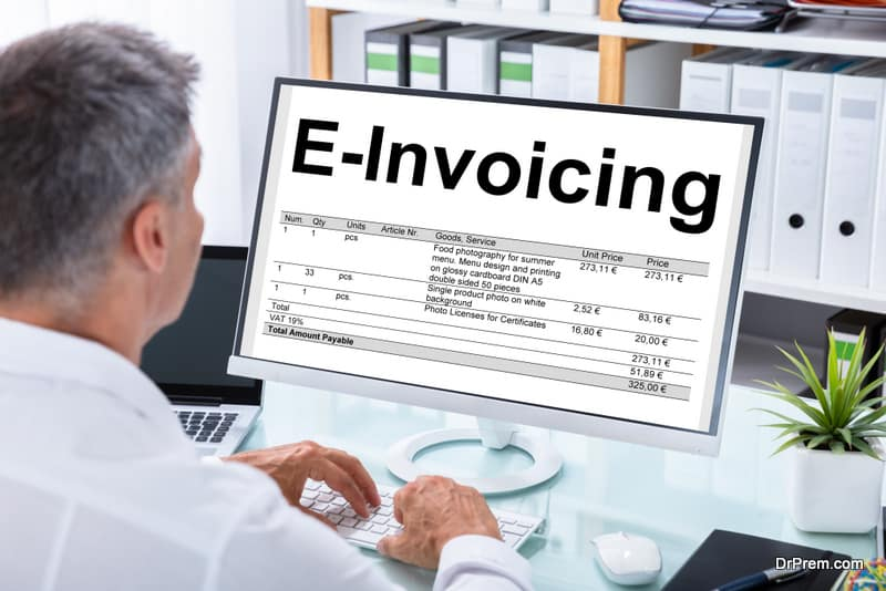 Cost effective invoicing system