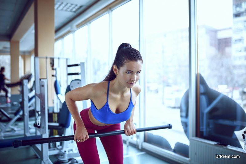 female-at-gym