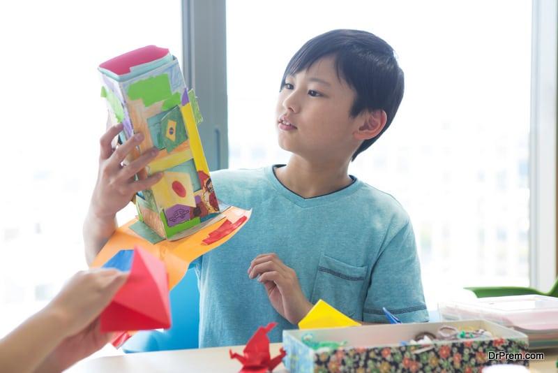 Paper-carton-birdhouse