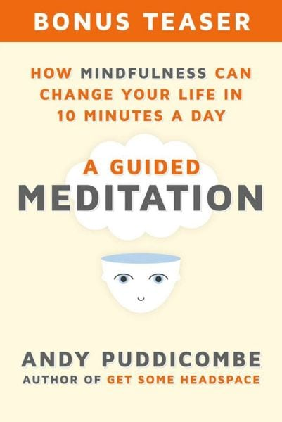 How Mindfulness can change your life in Ten minutes a day, written by Andy Puddicombe