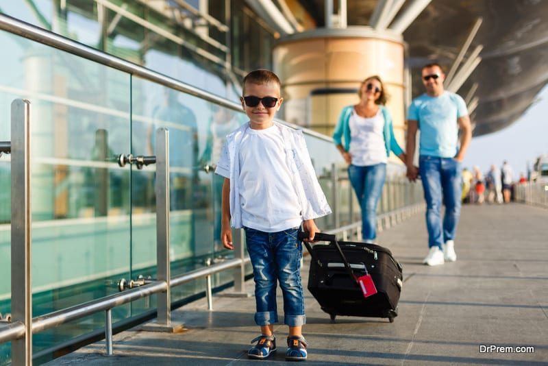 Give your child hisher own wheelie suitcase