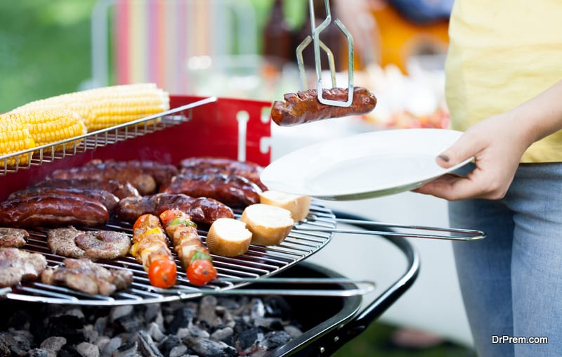 host a cookout together
