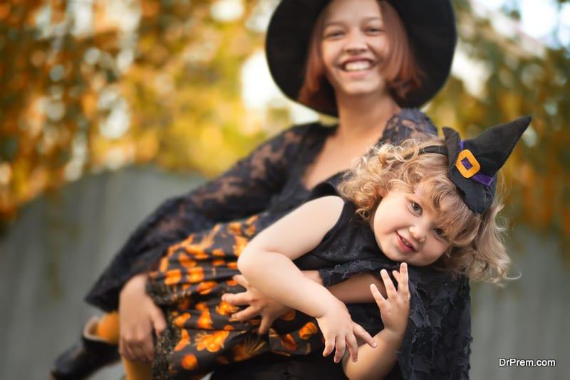 make Halloween enjoyable for your highly sensitive kid