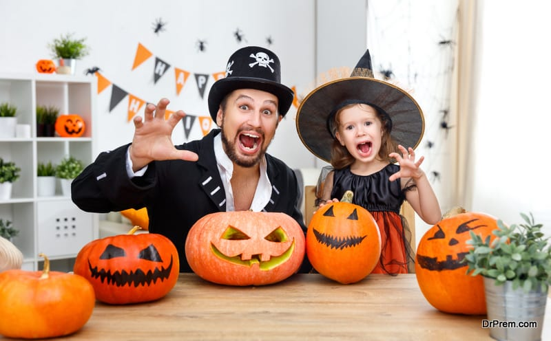 make Halloween enjoyable for your highly sensitive kid