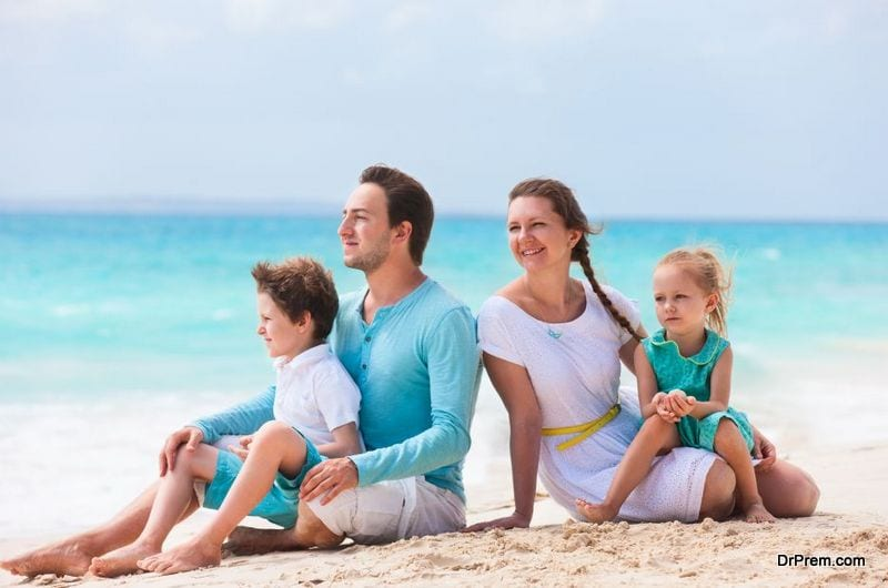 stress free summer vacations with kids
