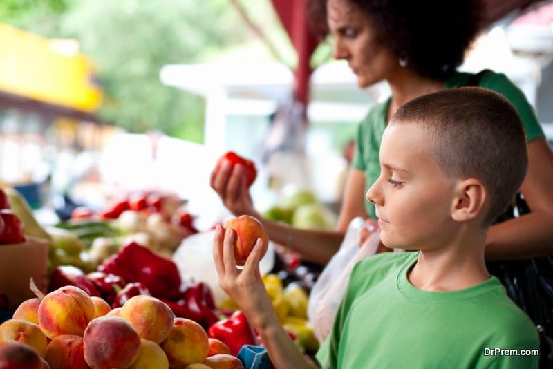 visit a farmers market