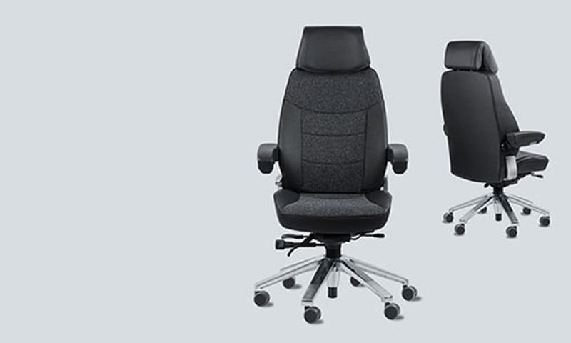 Active sitting chairs