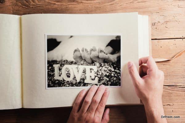 Go through your photo albums