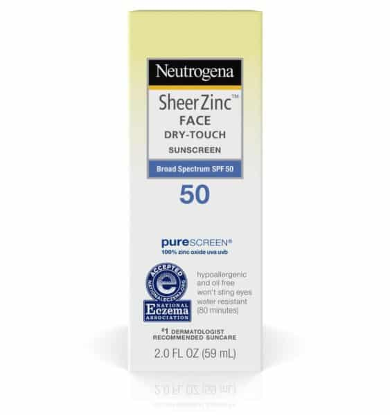Neutrogena SheerZinc Face Dry-Touch Sunscreen