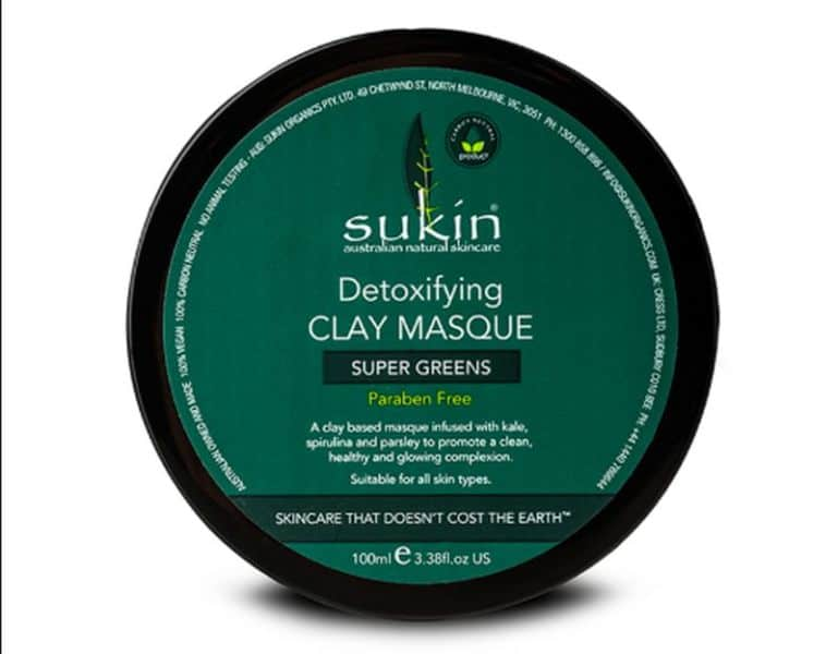 Sukin's Super Greens Detox Clay Mask